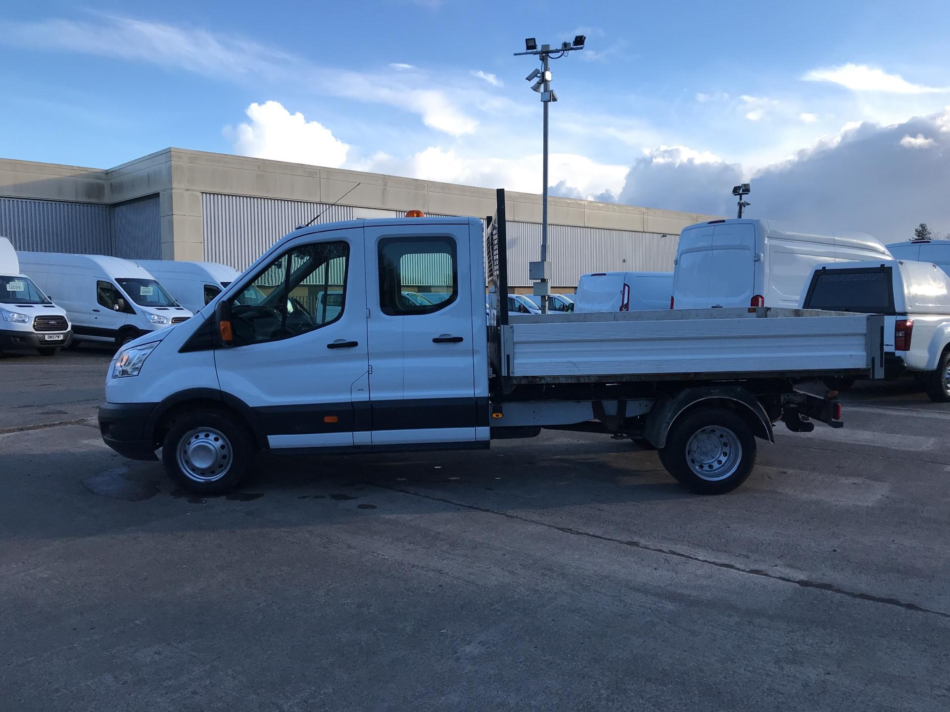 2016 Ford Transit 350 L3 DOUBLE CAB TIPPER 125PS EURO 5 (FP65DLK) Image 6