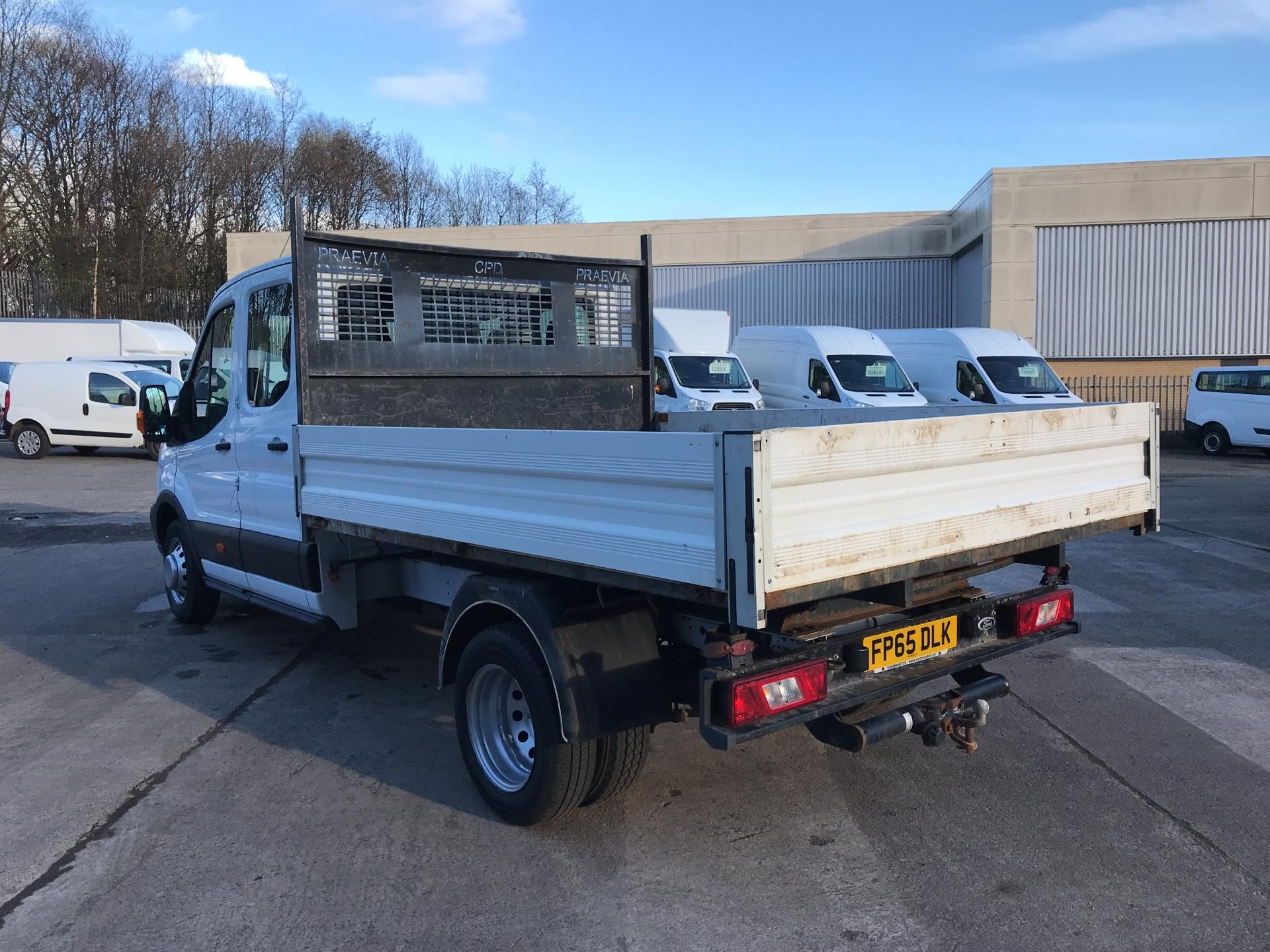 2016 Ford Transit 350 L3 DOUBLE CAB TIPPER 125PS EURO 5 (FP65DLK) Image 5