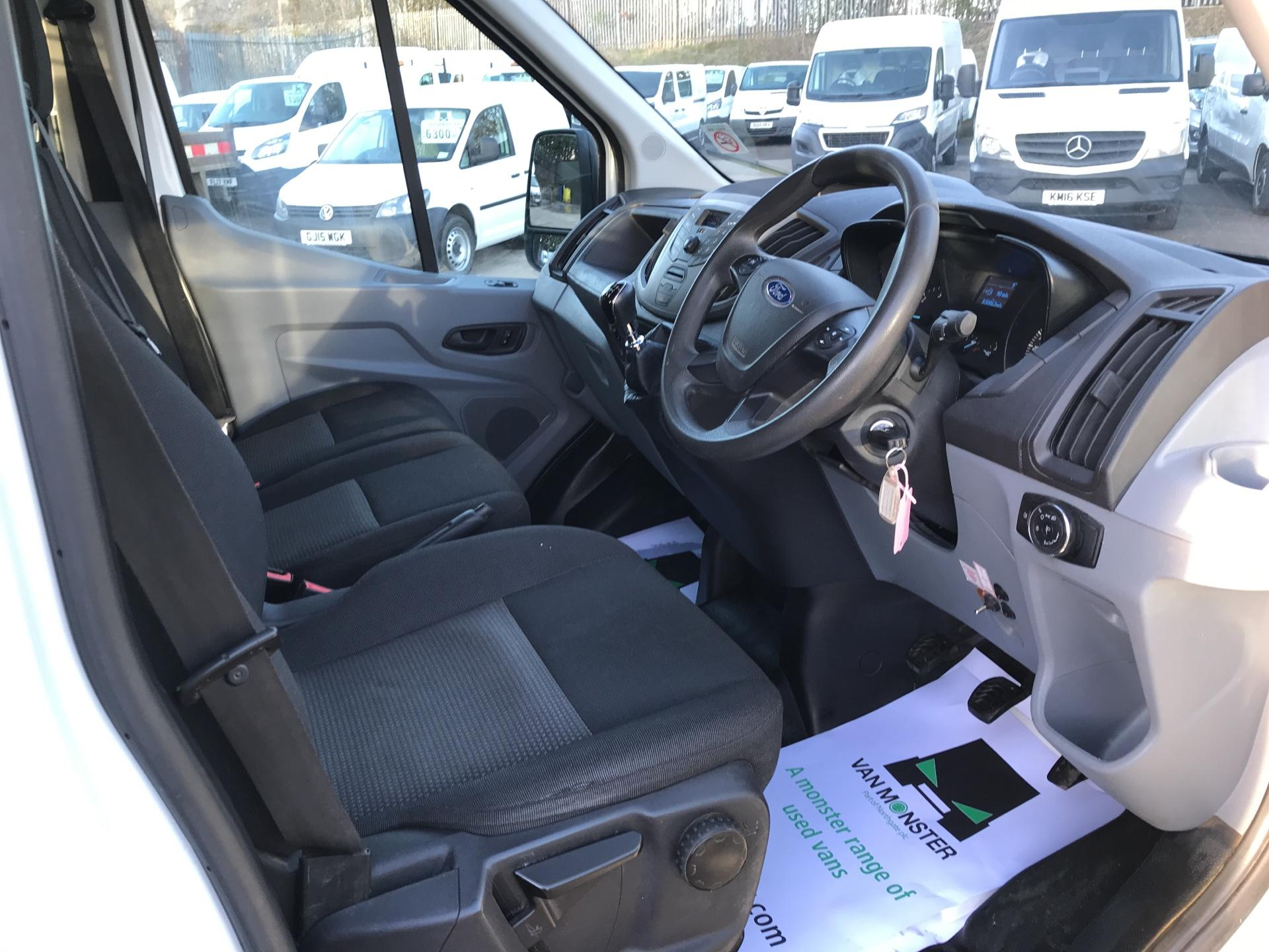 2016 Ford Transit 350 L3 DOUBLE CAB TIPPER 125PS EURO 5 (FP65DLK) Image 9