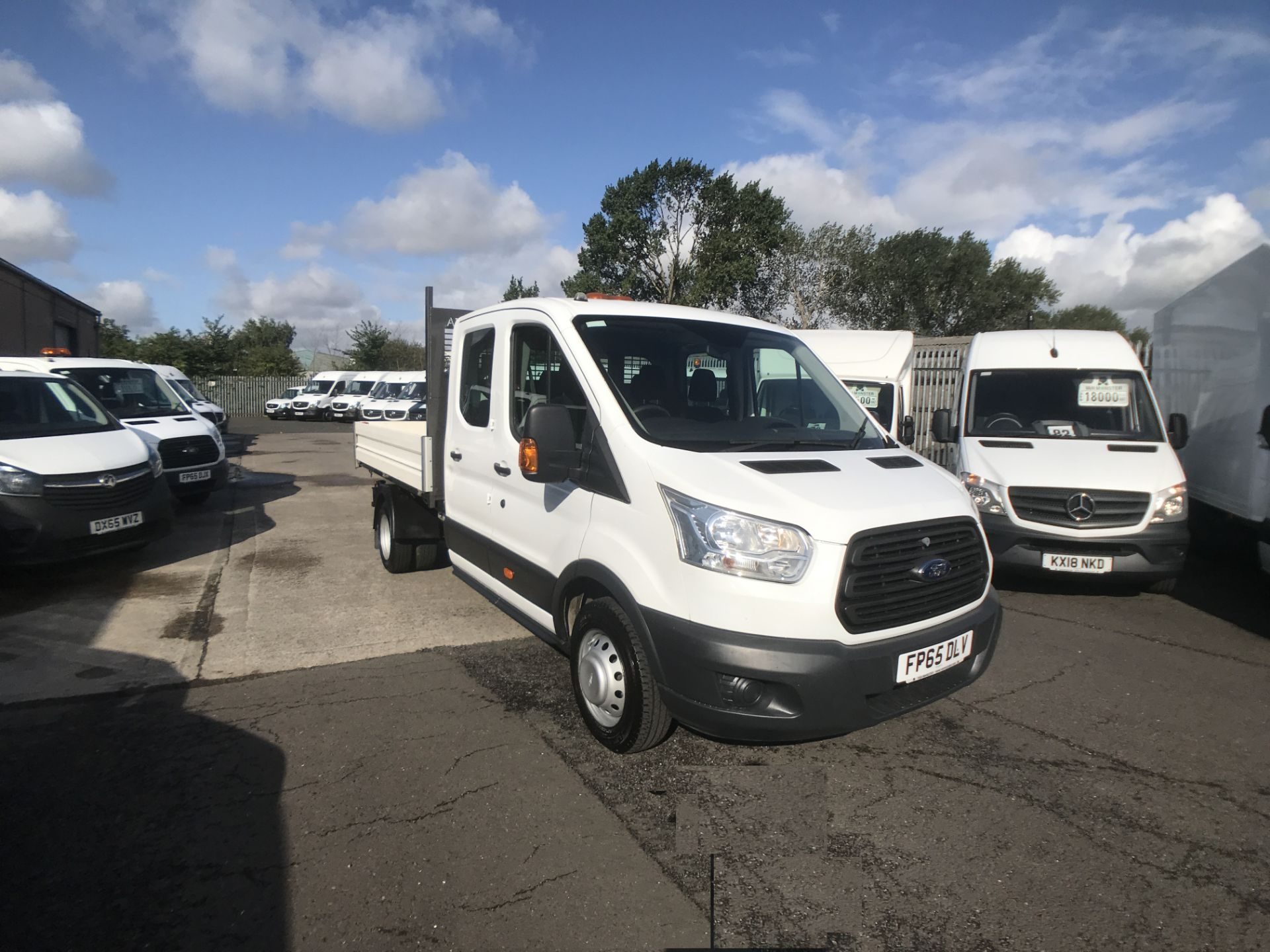 2015 Ford Transit T350 DOUBLE CAB TIPPER 125PS EURO 5 (FP65DLV)