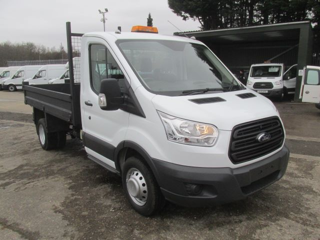 2015 Ford Transit 350 L2 SINGLE CAB TIPPER 125PS EURO 5 (FP65DLY)