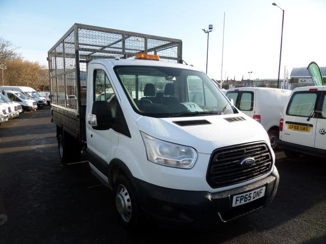 2015 Ford Transit T350 2.2 Tdci 125Ps Caged/Tipper (FP65DNF)
