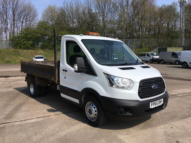 2015 Ford Transit 350 L2 SINGLE CAB TIPPER 125PS EURO 5 (FP65DNY)