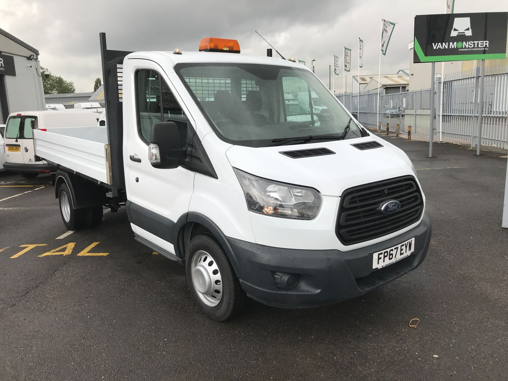 2018 Ford Transit T350 SINGLE CAB TIPPER 130PS EURO 5 (FP67EYW)