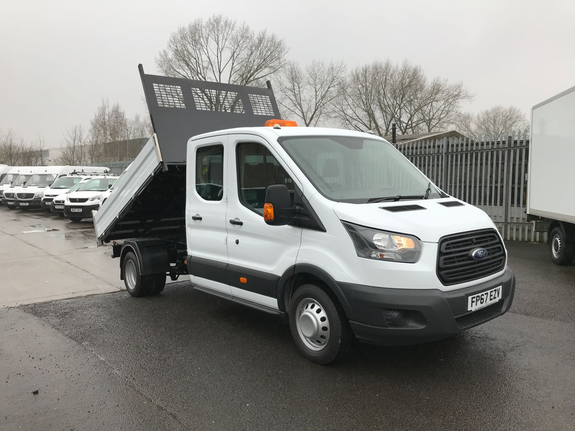 2018 Ford Transit 350 L3 DOUBLE CAB TIPPER 130PS EURO 5 (FP67EZV)