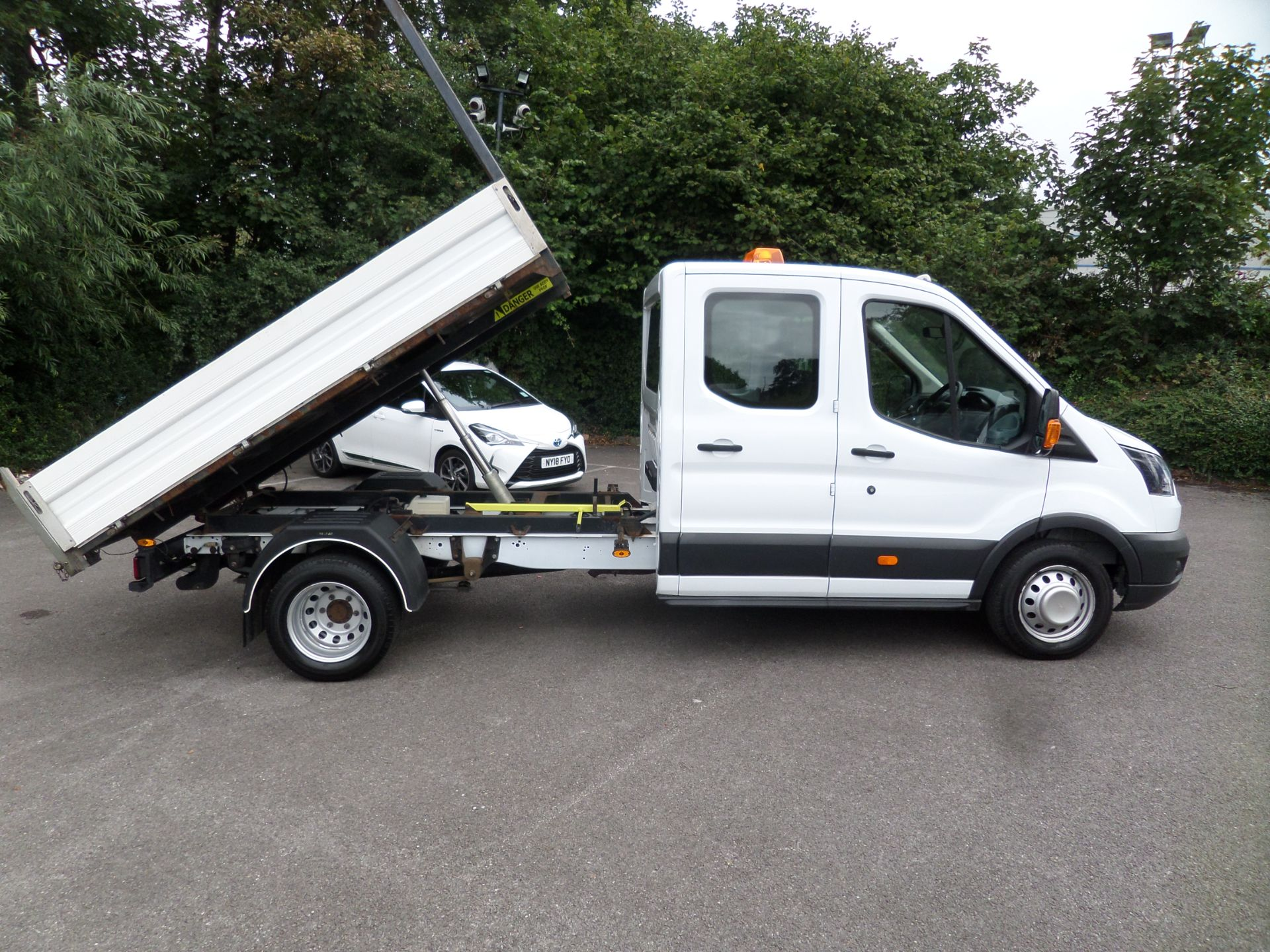 2018 Ford Transit 2.0 Tdci 130Ps Double Cab Tipper Euro 6 (FP67FCU) Image 3
