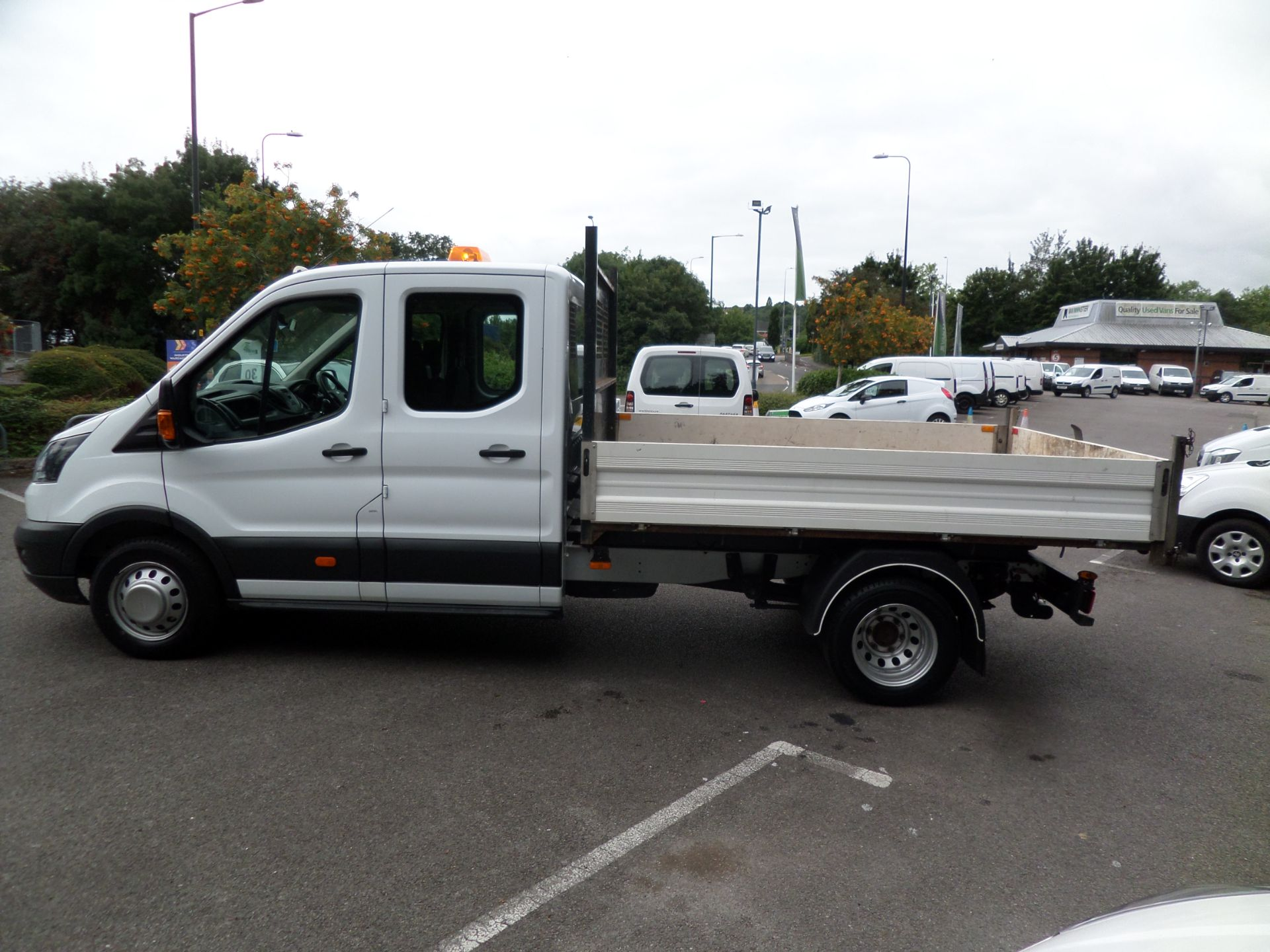 2018 Ford Transit 2.0 Tdci 130Ps Double Cab Tipper Euro 6 (FP67FCU) Image 6