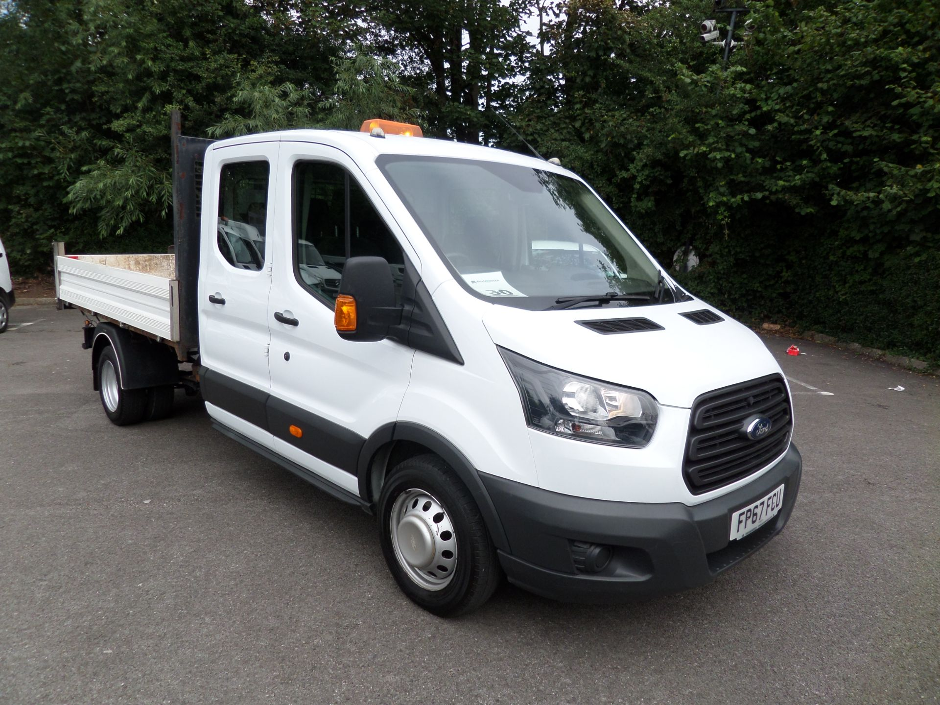 2018 Ford Transit 2.0 Tdci 130Ps Double Cab Tipper Euro 6 (FP67FCU) Image 1