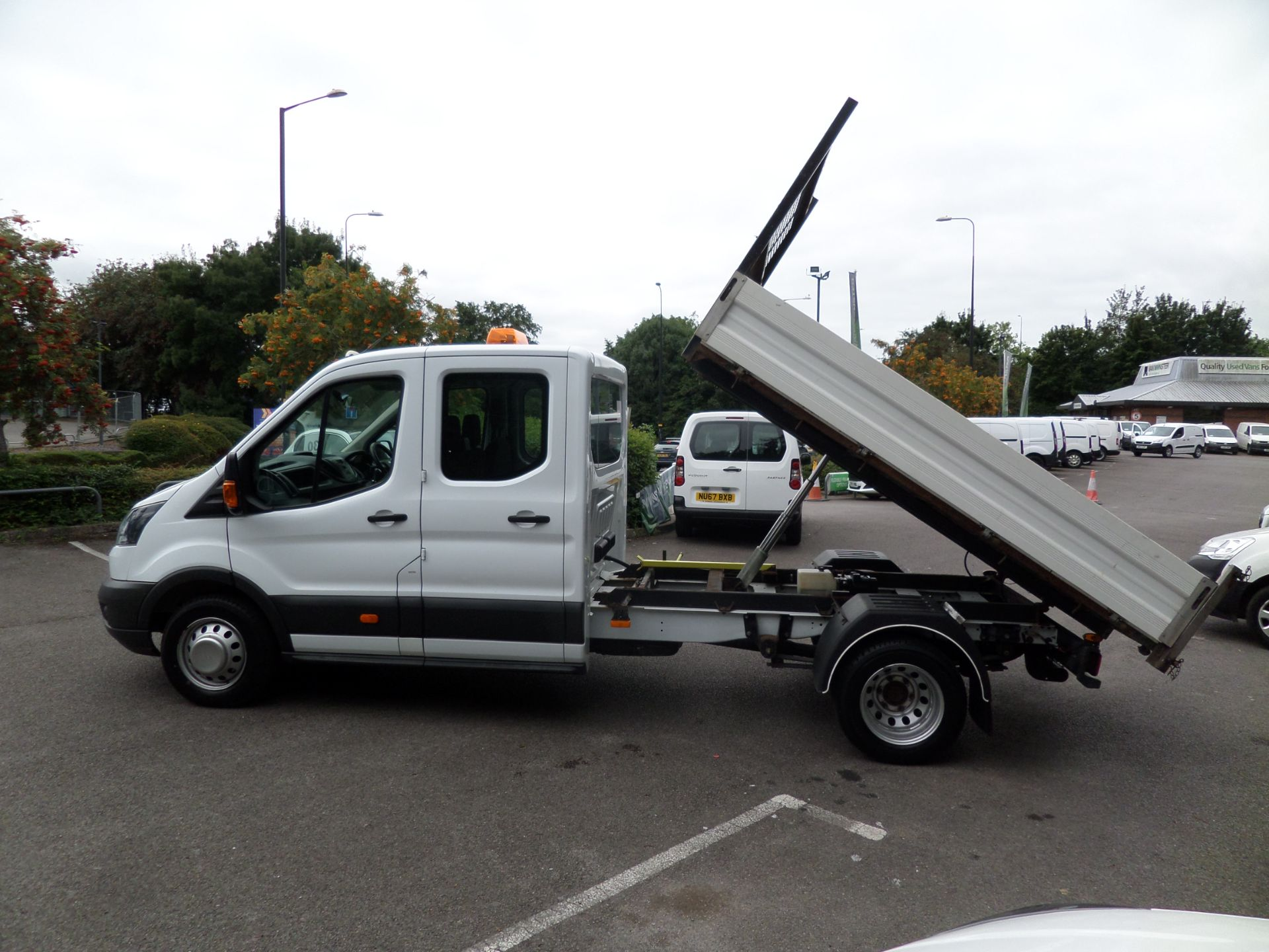 2018 Ford Transit 2.0 Tdci 130Ps Double Cab Tipper Euro 6 (FP67FCU) Image 7