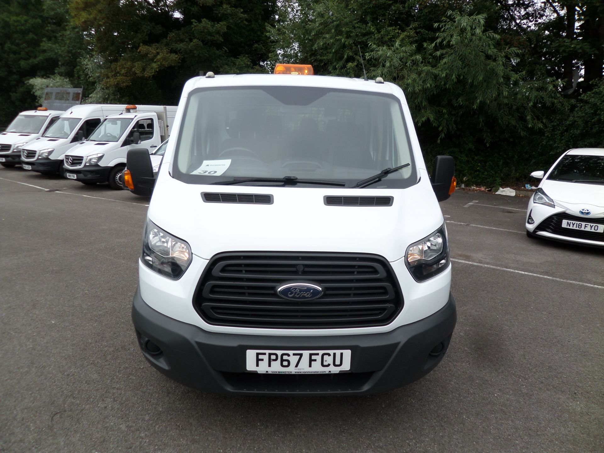 2018 Ford Transit 2.0 Tdci 130Ps Double Cab Tipper Euro 6 (FP67FCU) Image 11