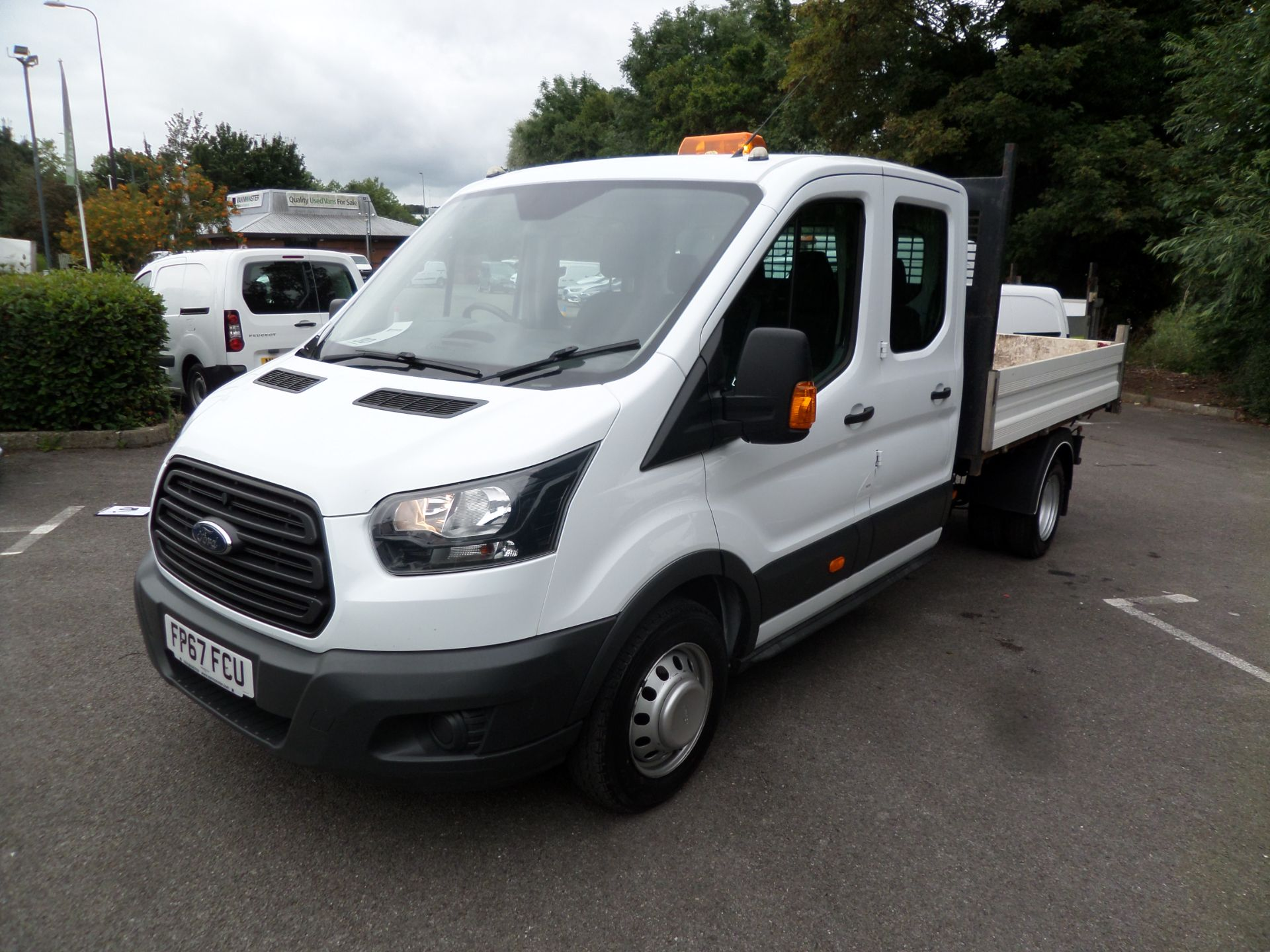 2018 Ford Transit 2.0 Tdci 130Ps Double Cab Tipper Euro 6 (FP67FCU) Image 10