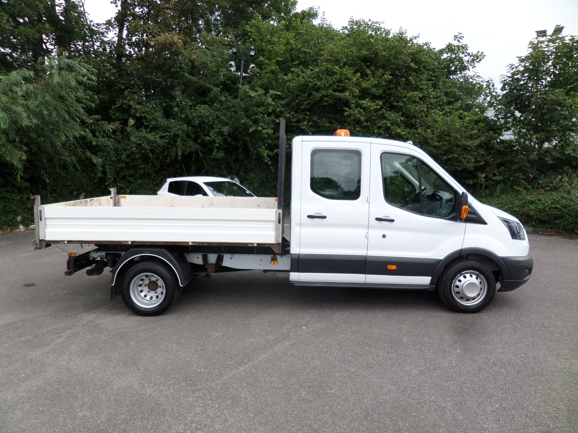 2018 Ford Transit 2.0 Tdci 130Ps Double Cab Tipper Euro 6 (FP67FCU) Image 2