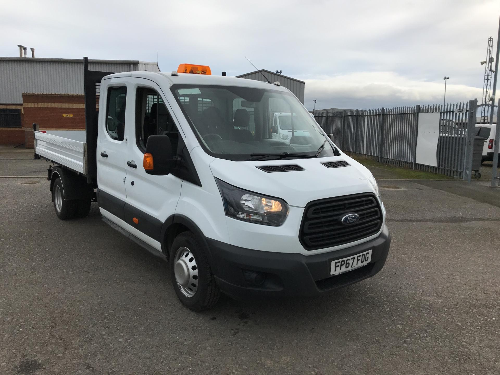 2018 Ford Transit  350 L3 DOUBLE CAB TIPPER 130PS EURO 5 (FP67FDG)