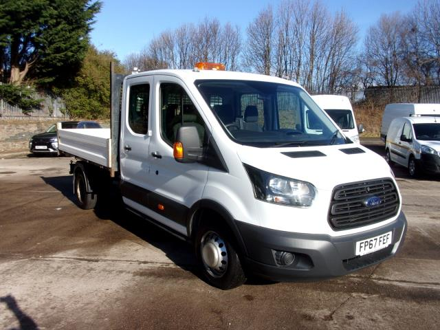 2018 Ford Transit 350 L3 2.0 Tdci 130Ps Double Cab Tipper  (FP67FEF)