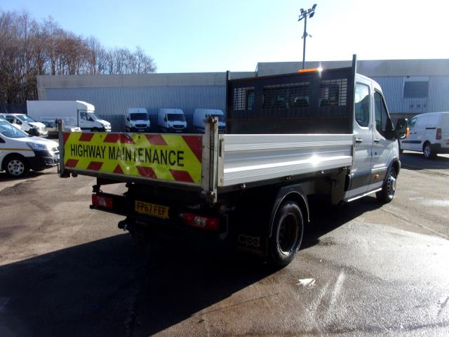 2018 Ford Transit 350 L3 2.0 Tdci 130Ps Double Cab Tipper  (FP67FEF) Image 9