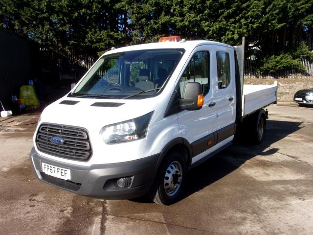 2018 Ford Transit 350 L3 2.0 Tdci 130Ps Double Cab Tipper  (FP67FEF) Image 14