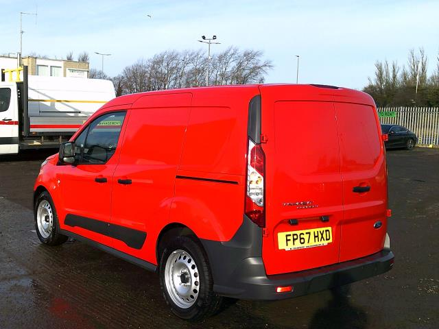 2018 Ford Transit Connect 220 L1 Diesel 1.5 TDCi 75PS Van EURO 6 (FP67HXD) Image 8