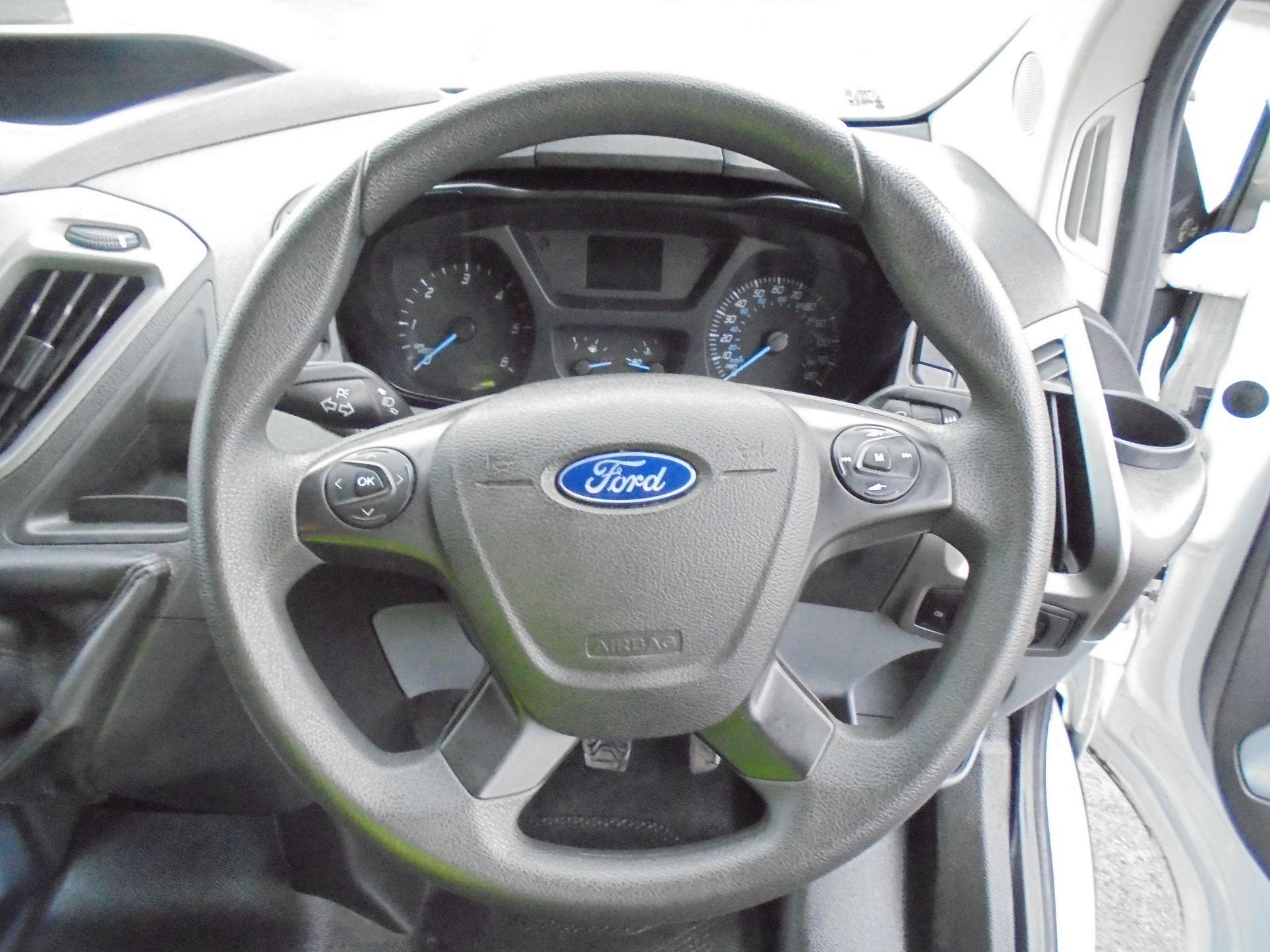 2017 Ford Transit Custom 2.0 Tdci 105Ps L1 H1 D/Cab Van (FP67HYH) Image 12