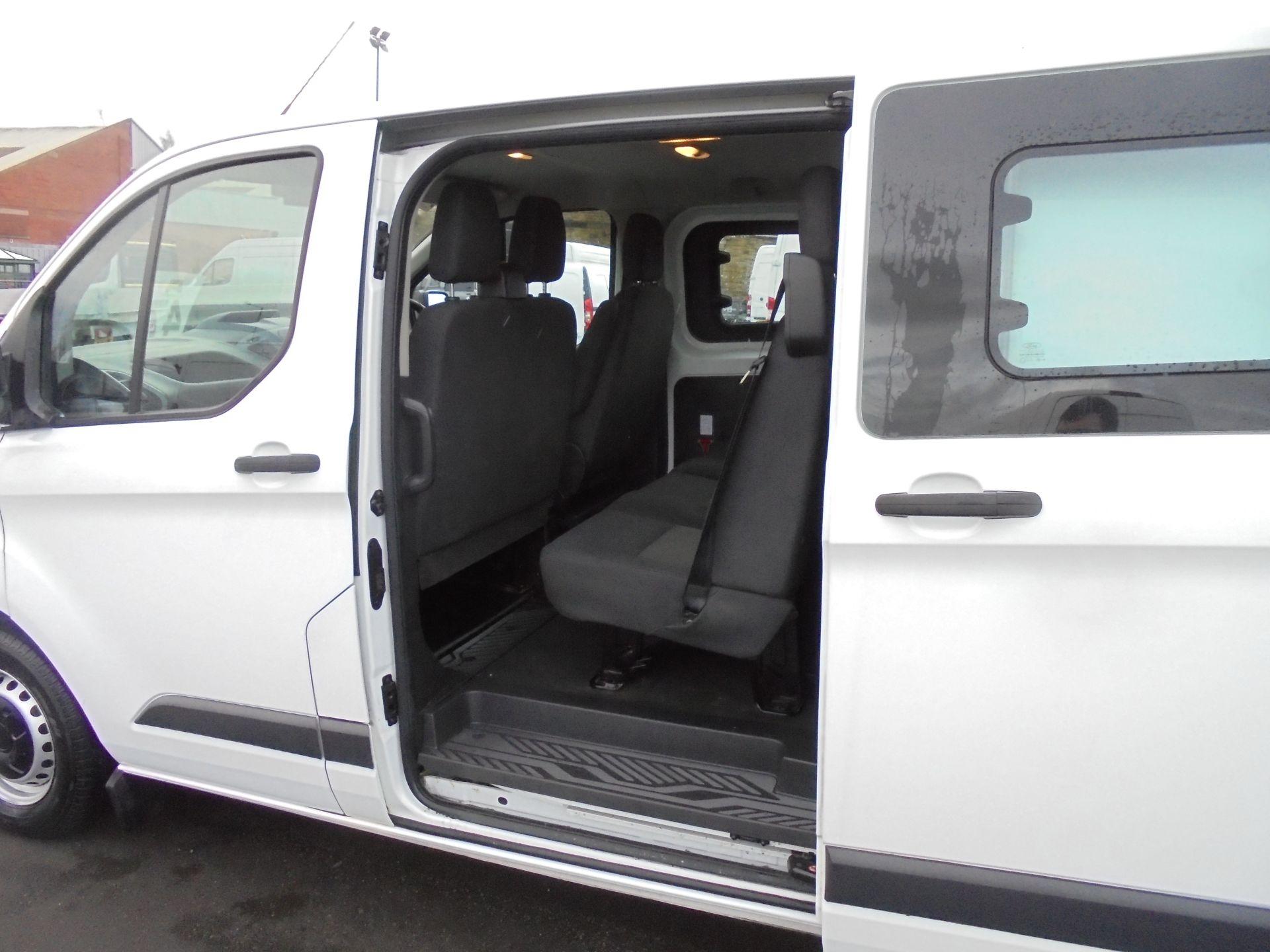 2017 Ford Transit Custom 2.0 Tdci 105Ps L1 H1 D/Cab Van (FP67HYH) Image 24