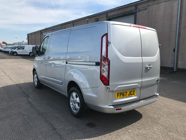 2017 Ford Transit Custom  290 L1 2.0TDCI 130PS LOW ROOF LIMITED EURO 6 (FP67JCZ) Image 4