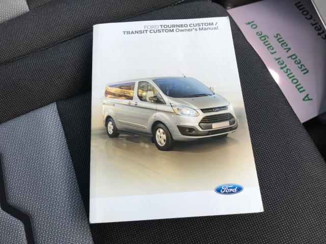 2017 Ford Transit Custom  290 L1 2.0TDCI 130PS LOW ROOF LIMITED EURO 6 (FP67JCZ) Image 31