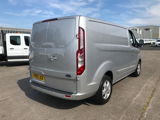2017 Ford Transit Custom  290 L1 2.0TDCI 130PS LOW ROOF LIMITED EURO 6 (FP67JCZ) Image 3