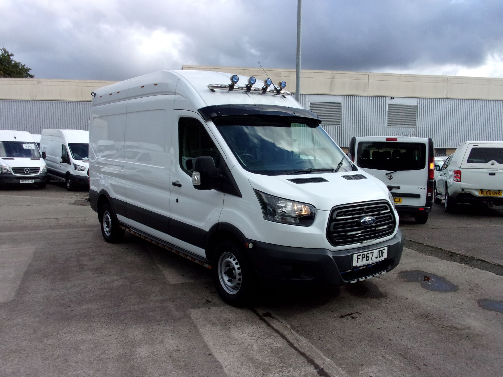 2017 Ford Transit 350 L3 H3 130PS VAN EURO 6 (FP67JDF) Image 1