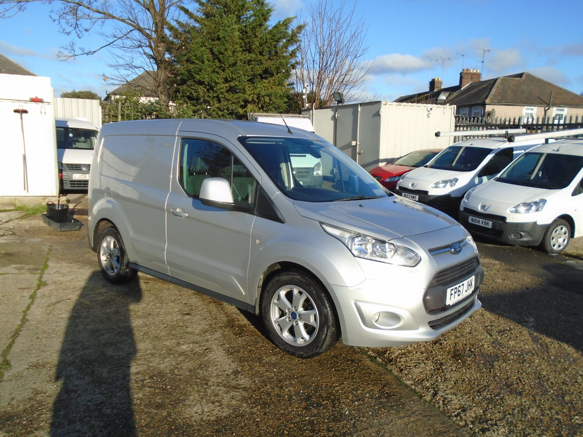 2017 Ford Transit Connect 1.5 Tdci 120Ps Limited Van EURO 6 (FP67JHK)