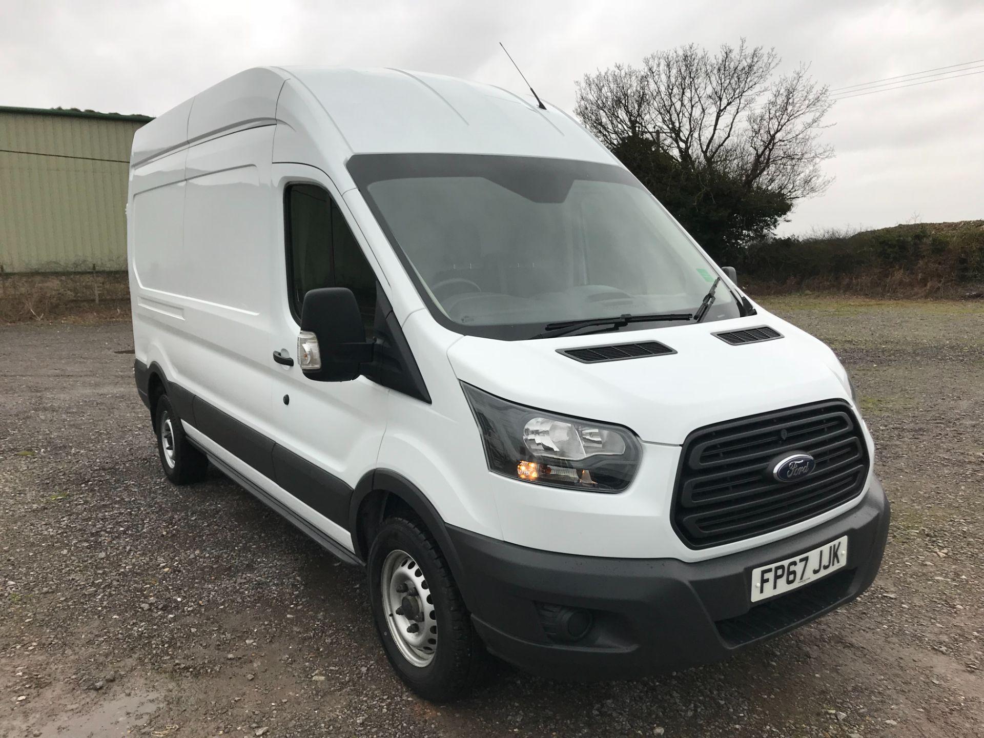 2017 Ford Transit 350  L3 H3 VAN 130PS EURO 6 (FP67JJK)