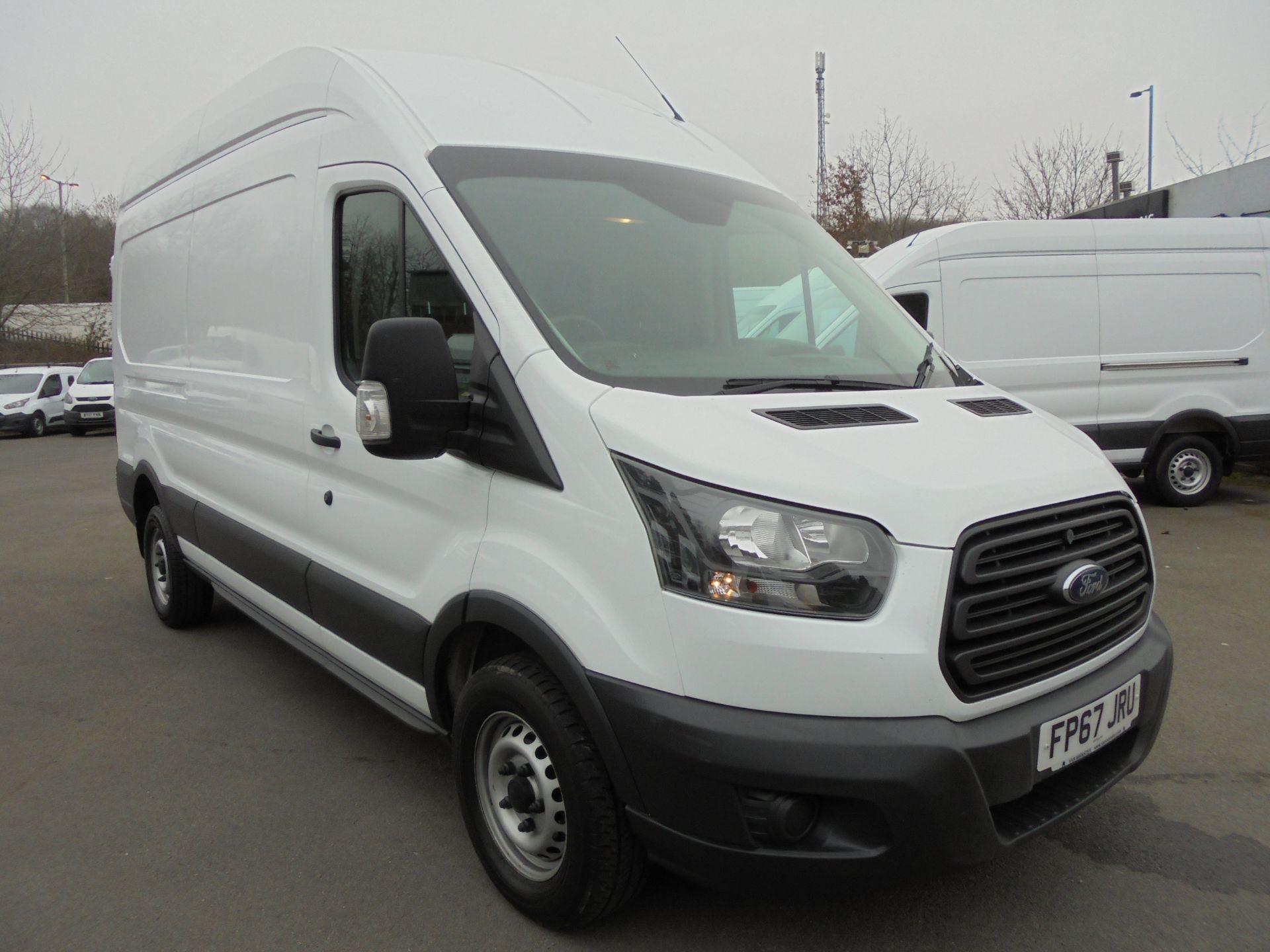 2017 Ford Transit 2.0 Tdci 130Ps H3 Van (FP67JRU) Image 1
