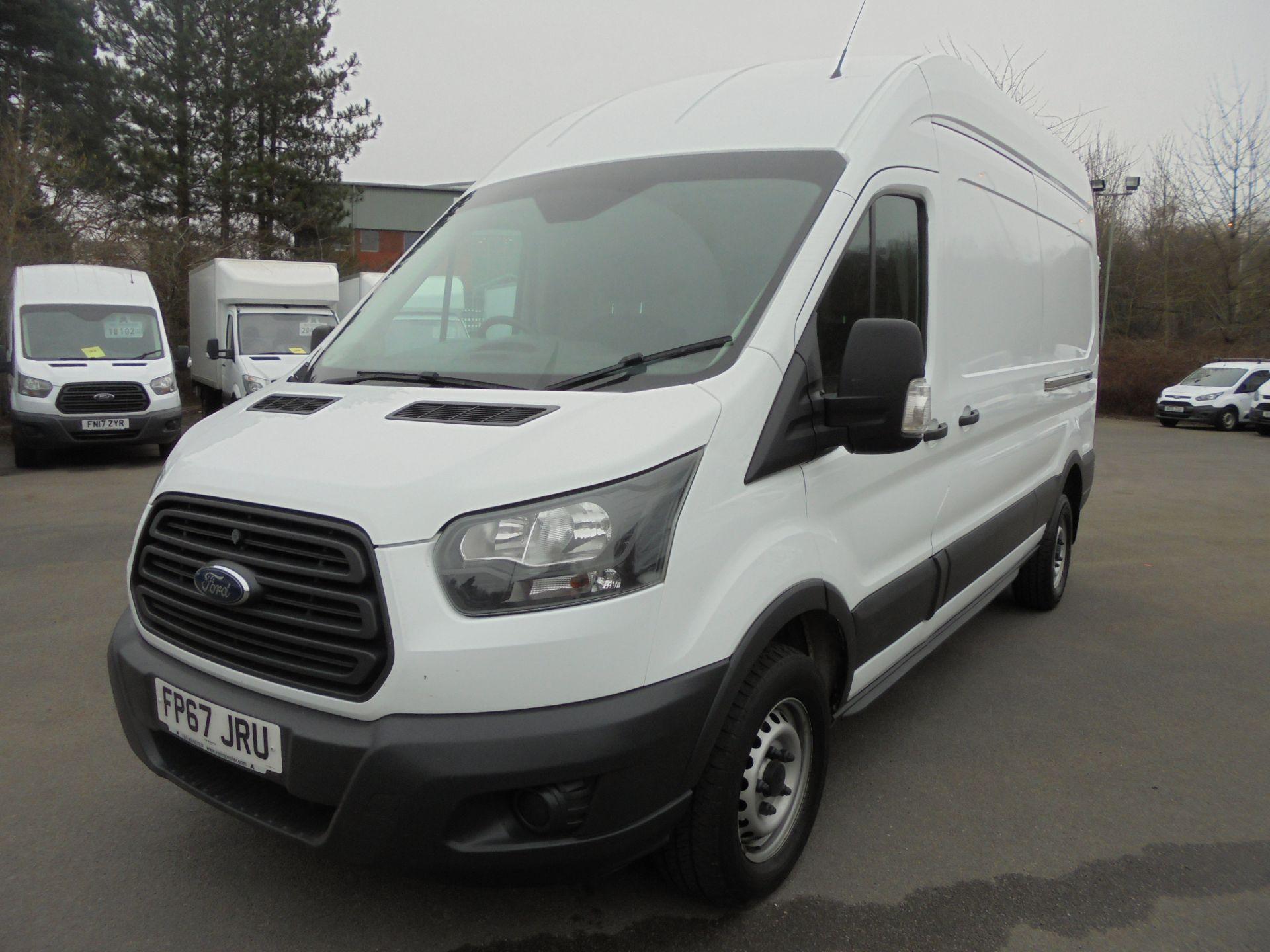 2017 Ford Transit 2.0 Tdci 130Ps H3 Van (FP67JRU) Image 3