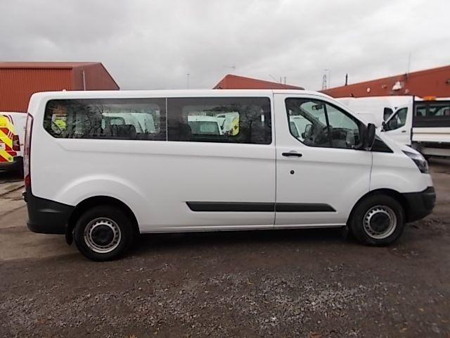 2017 Ford Transit Custom 2.0 Tdci 130Ps Low Roof Kombi Van (FP67JWZ) Image 8