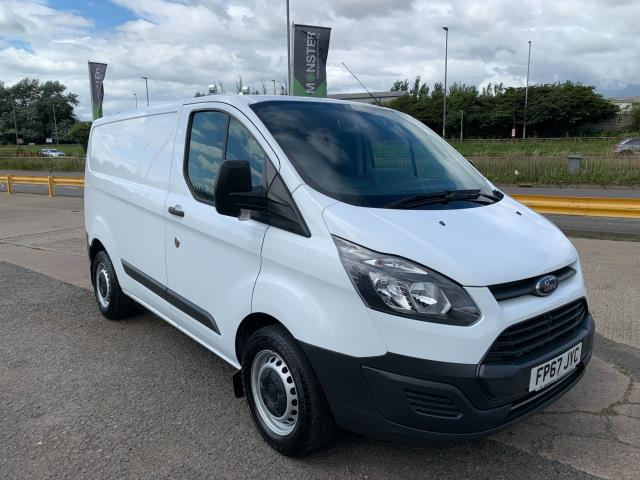 2018 Ford Transit Custom 2.0 Tdci 130Ps Low Roof Van * Speed Restricted to 70mph * (FP67JYC)