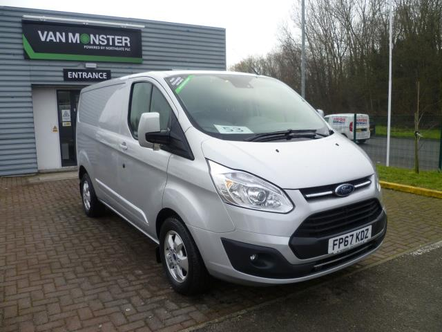 2017 Ford Transit Custom 290 L1 DIESEL FWD 2.0 TDCI 130PS LOW ROOF LIMITED VAN EURO 6