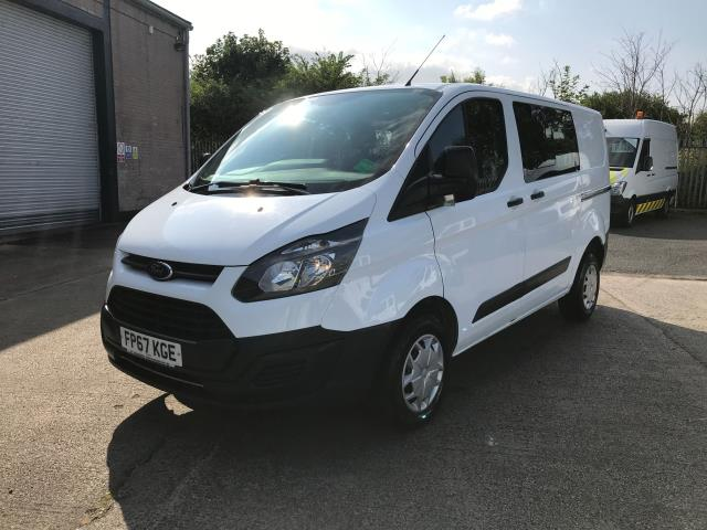 2017 Ford Transit Custom  290 L1 2.0TDCI 105PS LOW ROOF DOUBLE CAB EURO 6 (FP67KGE) Image 2