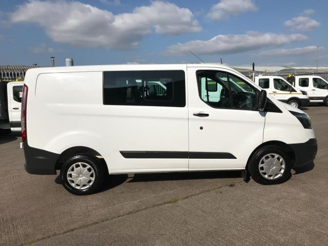 2017 Ford Transit Custom  290 L1 2.0TDCI 105PS LOW ROOF DOUBLE CAB EURO 6 (FP67KGE) Image 5