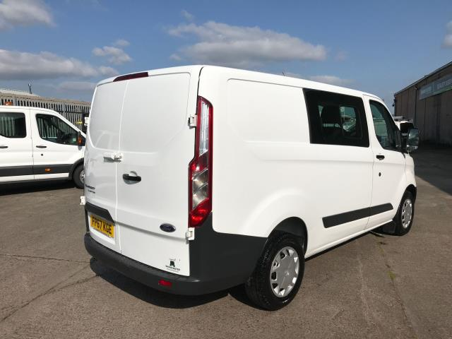 2017 Ford Transit Custom  290 L1 2.0TDCI 105PS LOW ROOF DOUBLE CAB EURO 6 (FP67KGE) Image 3