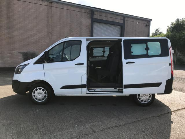 2017 Ford Transit Custom  290 L1 2.0TDCI 105PS LOW ROOF DOUBLE CAB EURO 6 (FP67KGE) Image 8