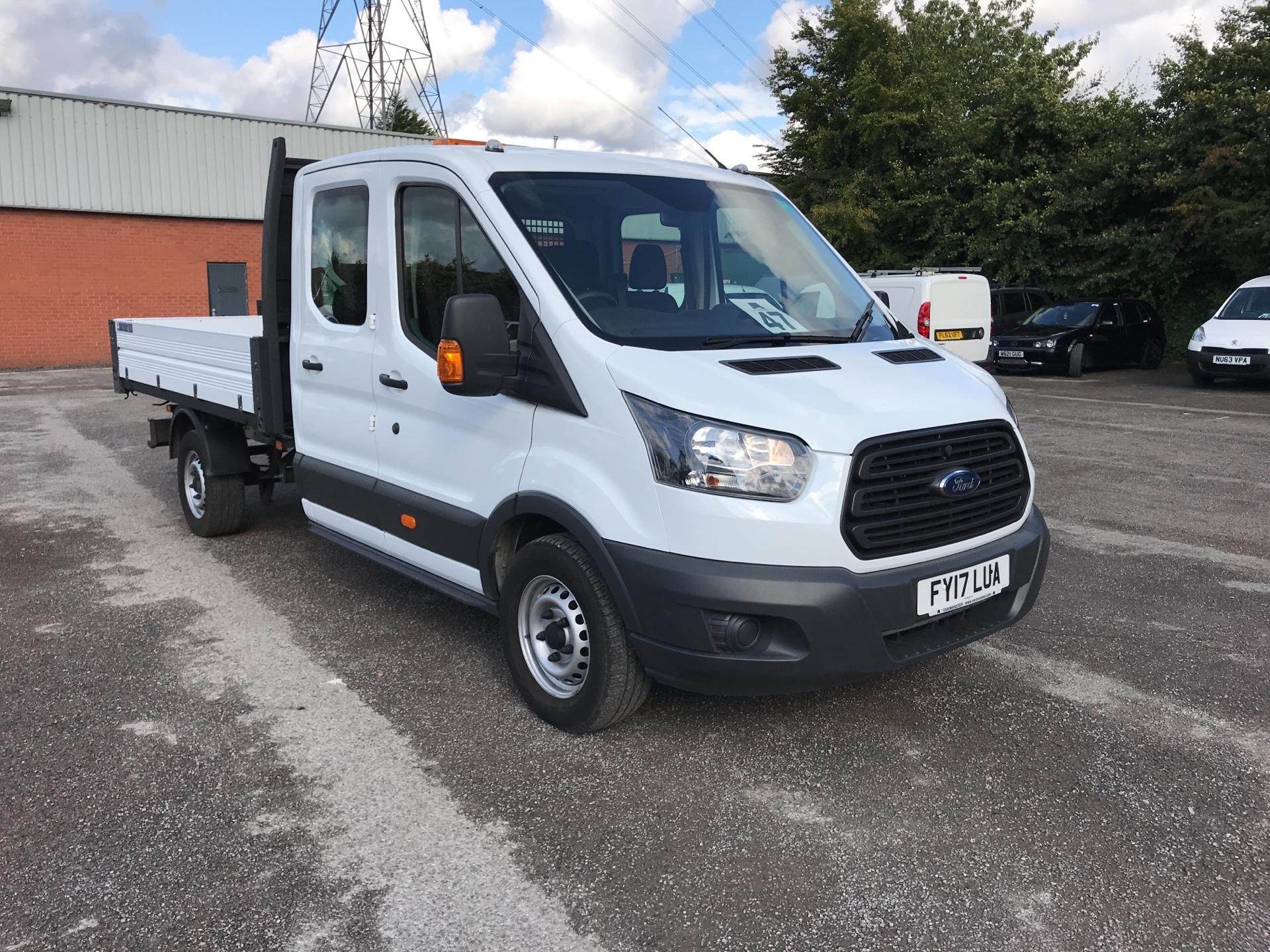 2017 Ford Transit T350 Double Cab Tipper Euro 6  (FY17LUA)
