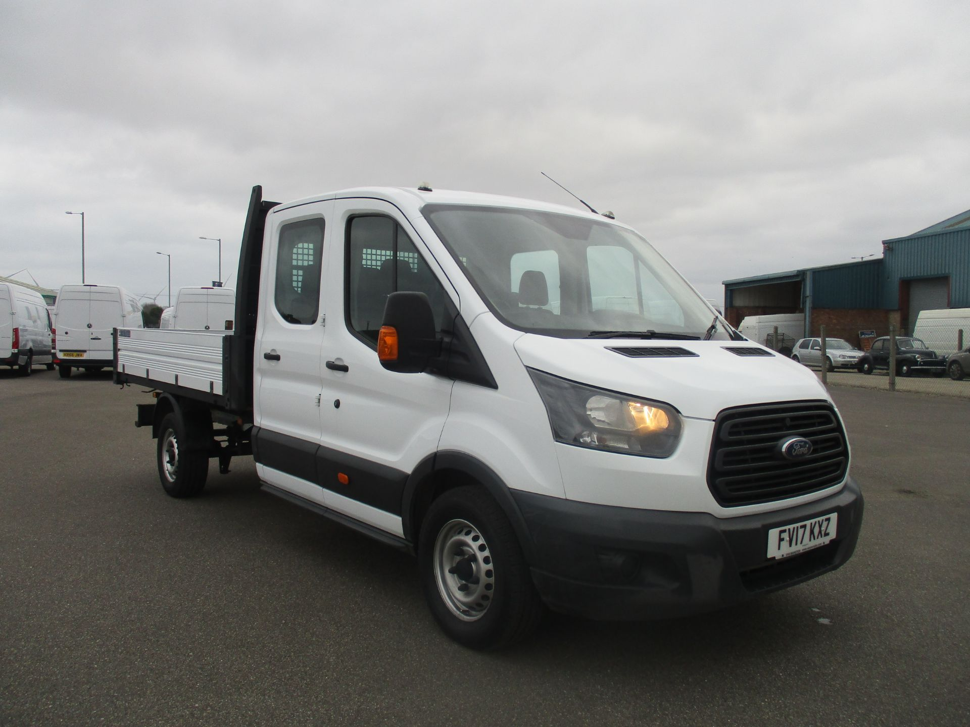 2017 Ford Transit 350 L3 DOUBLE CAB TIPPER 130PS EURO 6 (FV17KXZ)