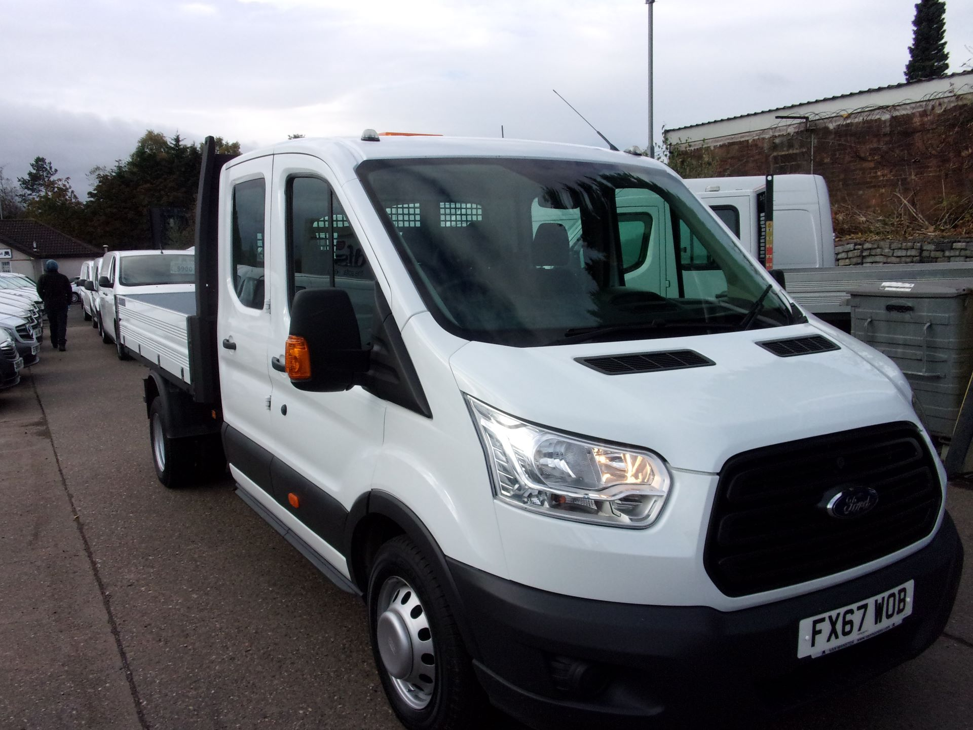 2017 Ford Transit 350 L3 RWD DOUBLE CAB TIPPER 130PS EURO 5 (FX67WOB)