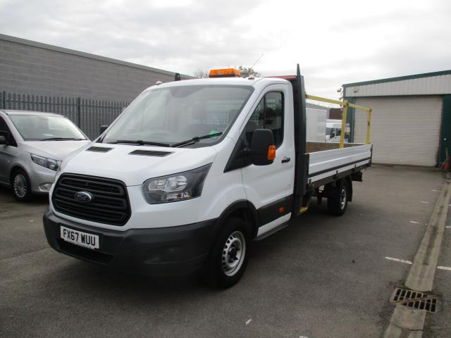 2017 Ford Transit 2.0 TDCI 125PS HEAVY DUTY DROPSIDE EURO 6 (FX67WUU) Image 3