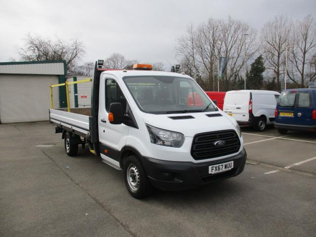 2017 Ford Transit 2.0 TDCI 125PS HEAVY DUTY DROPSIDE EURO 6 (FX67WUU) Image 1