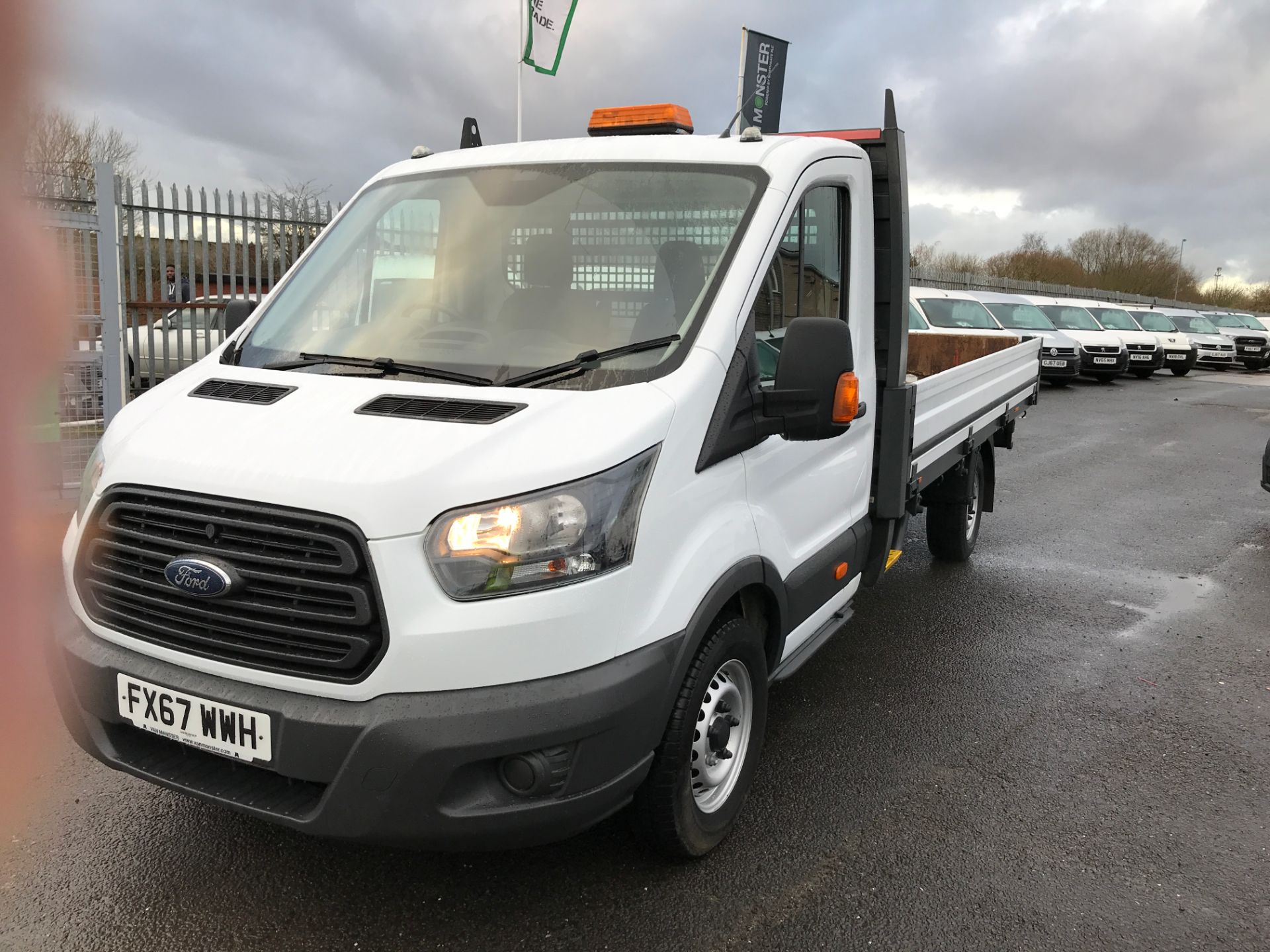 2017 Ford Transit T350 13FT DROPSIDE 130PS EURO 6 (FX67WWH) Image 13