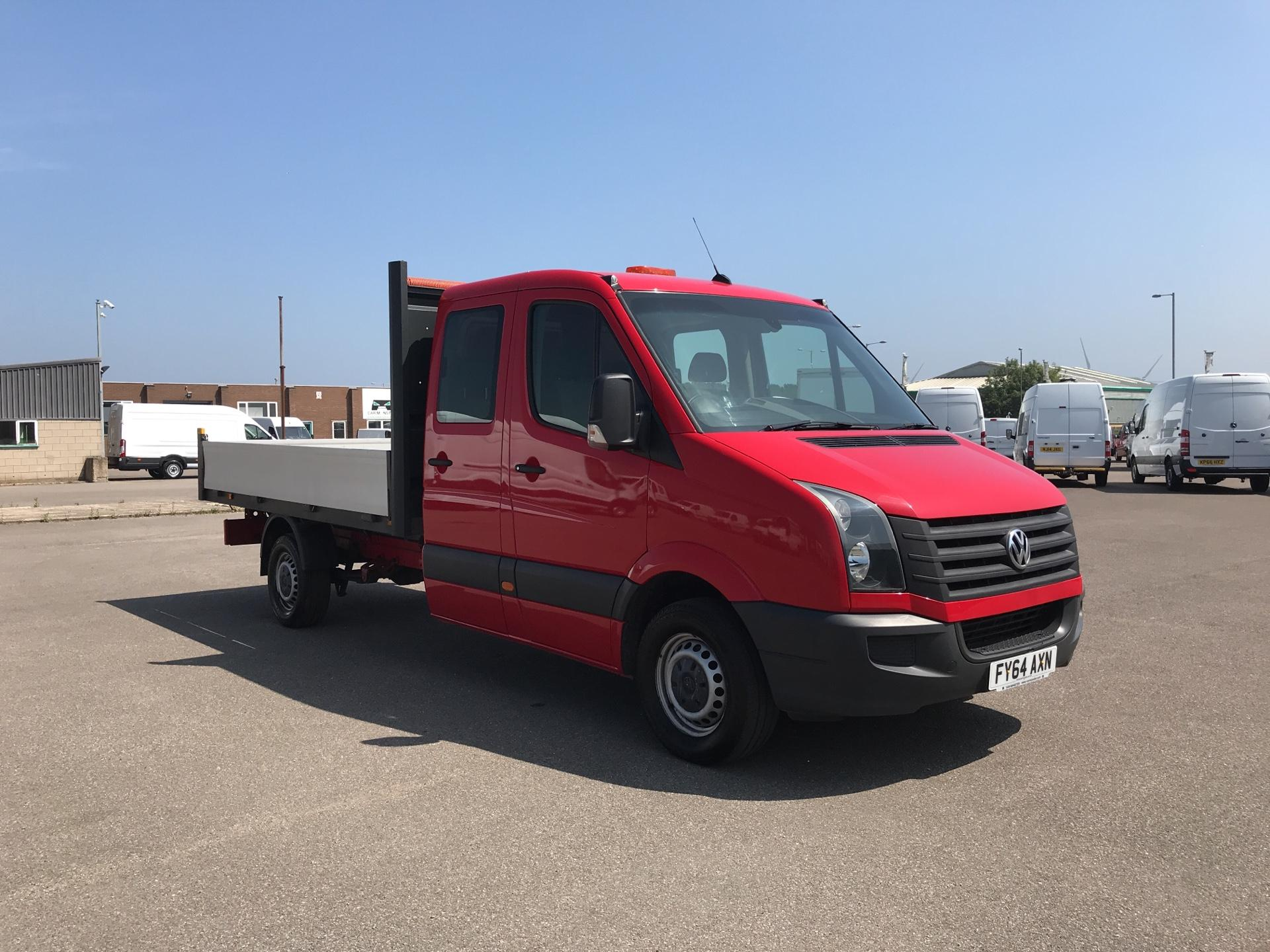 2014 Volkswagen Crafter CR35 LWB 2.0 136PS DROPSIDE (FY64AXN)