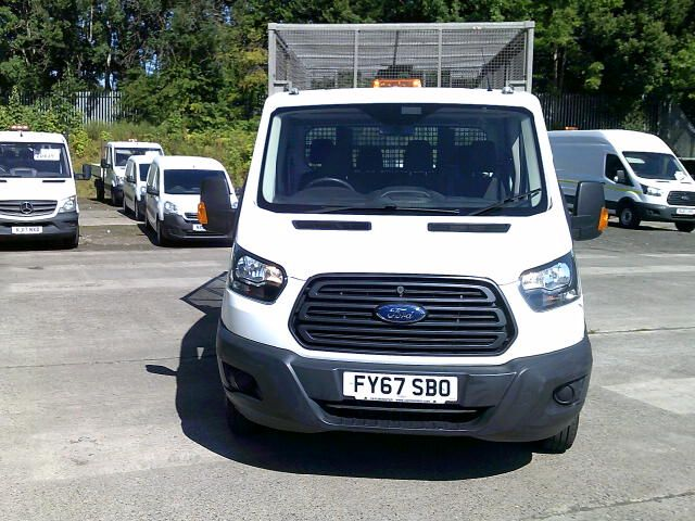 2018 Ford Transit 350 L3 Double Cab Tipper 2.0 Tdci 130Ps **CAGED** (FY67SBO) Image 15
