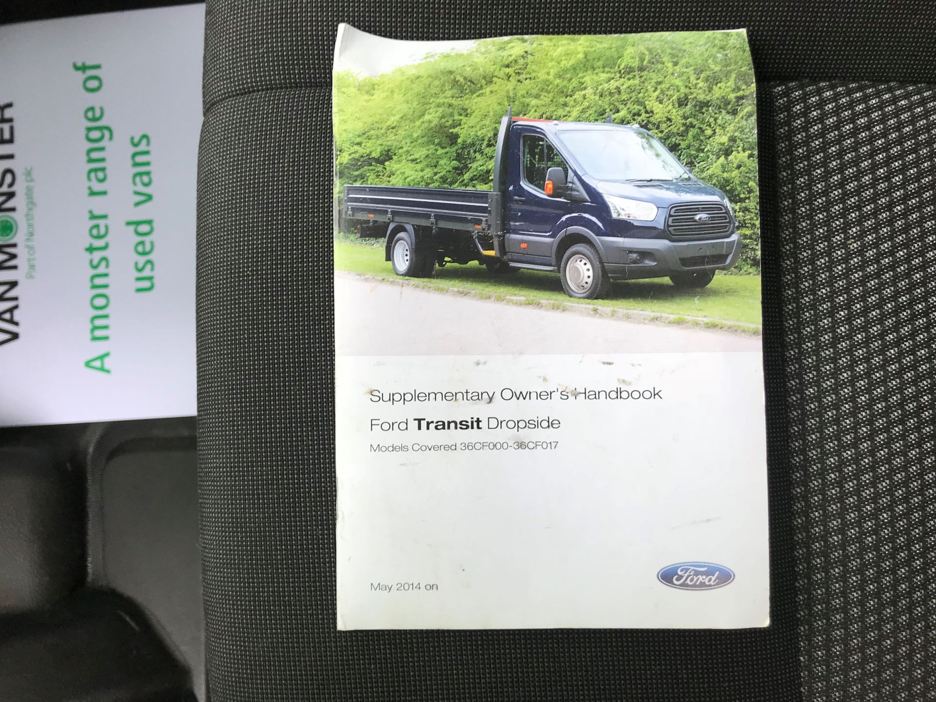 2017 Ford Transit 350 L4 DROP SIDE 130PS EURO 6 (FY67SGX) Image 35