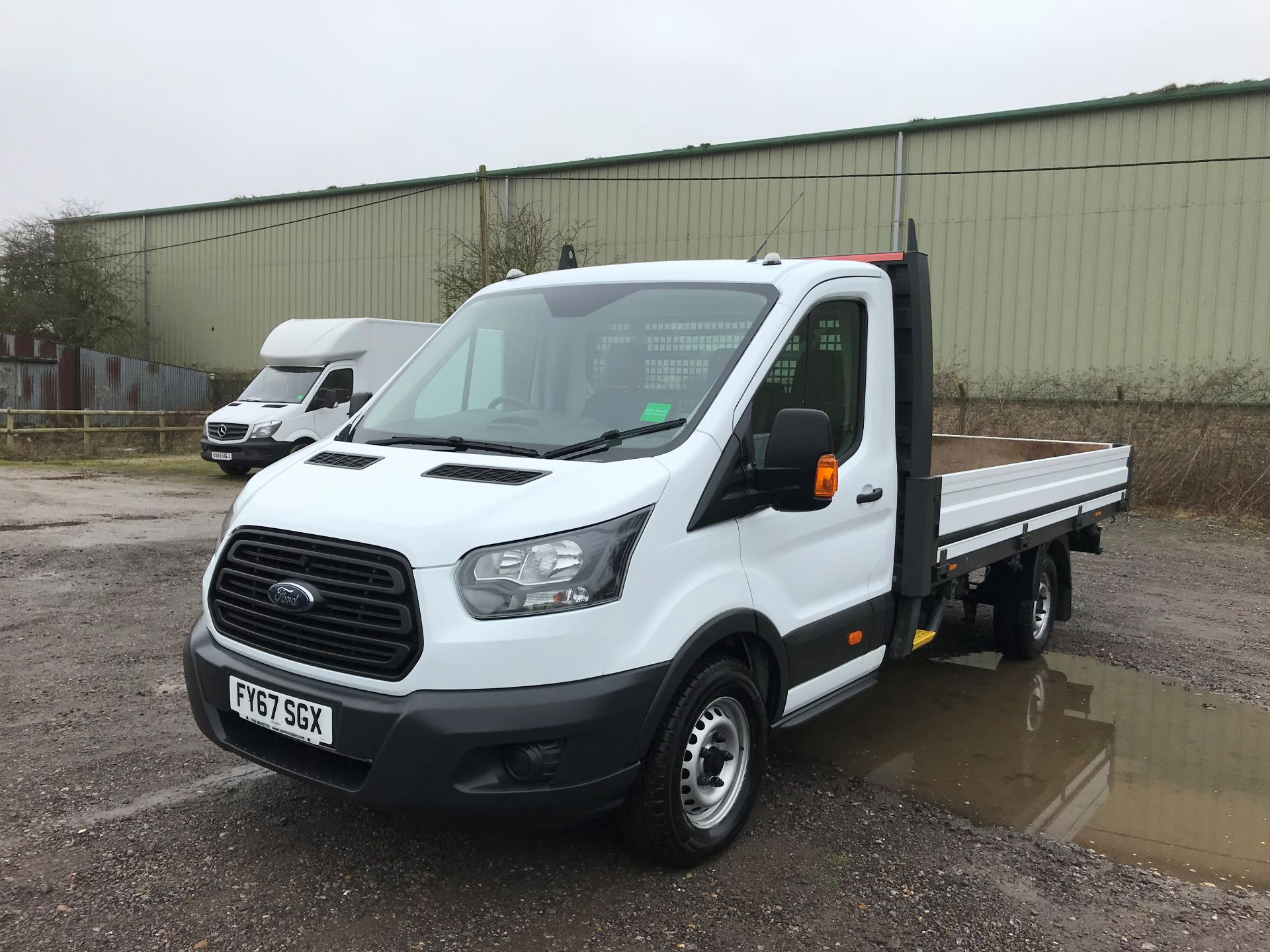 2017 Ford Transit 350 L4 DROP SIDE 130PS EURO 6 (FY67SGX) Image 3
