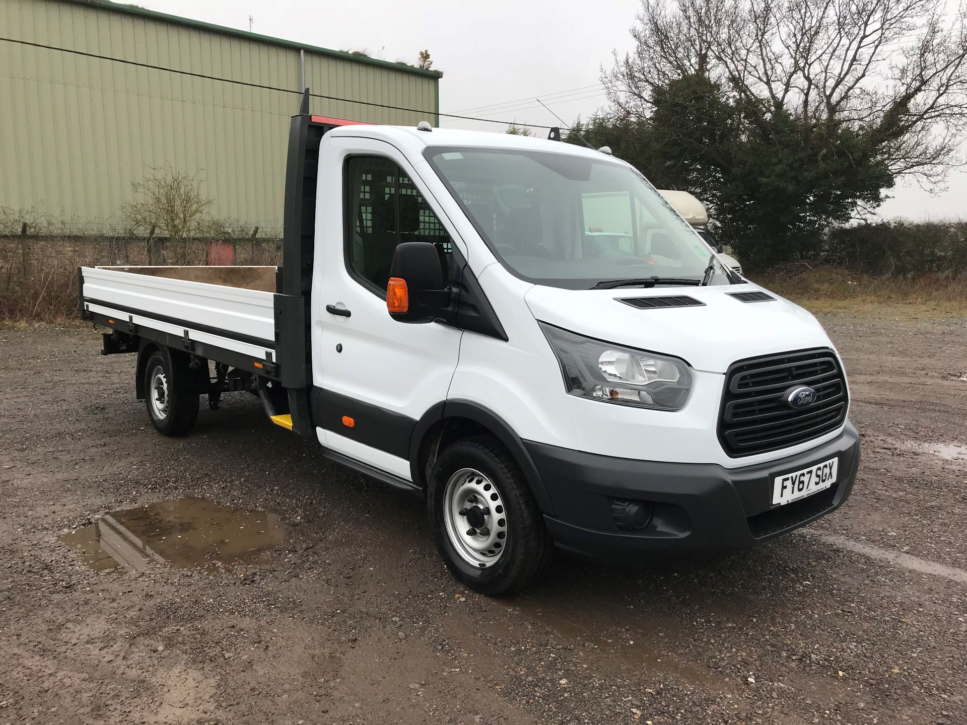 2017 Ford Transit 350 L4 DROP SIDE 130PS EURO 6 (FY67SGX)