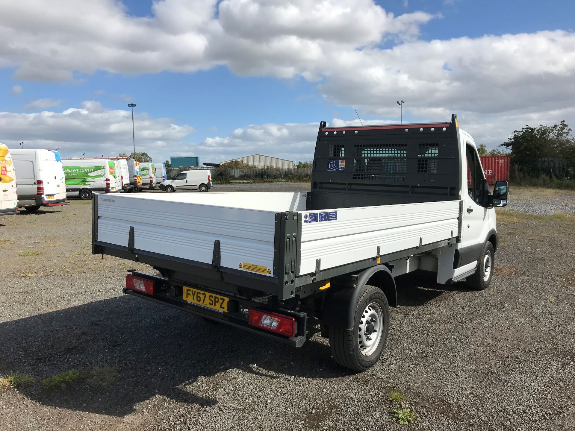 2018 Ford Transit 2.0 Tdci 130Ps Tipper (FY67SPZ) Thumbnail 7